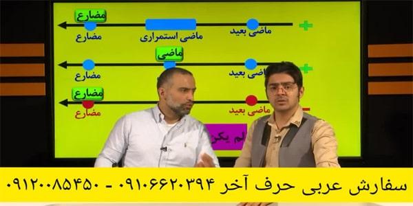 عربی جامع نظام جدید حرف آخر با تدریس محمد واعظی